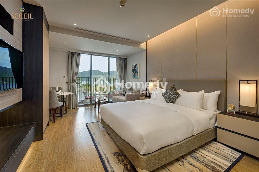 Bán căn hộ nghỉ dưỡng, mặt tiền biển Võ Nguyên Giáp - Soleil Ánh Dương