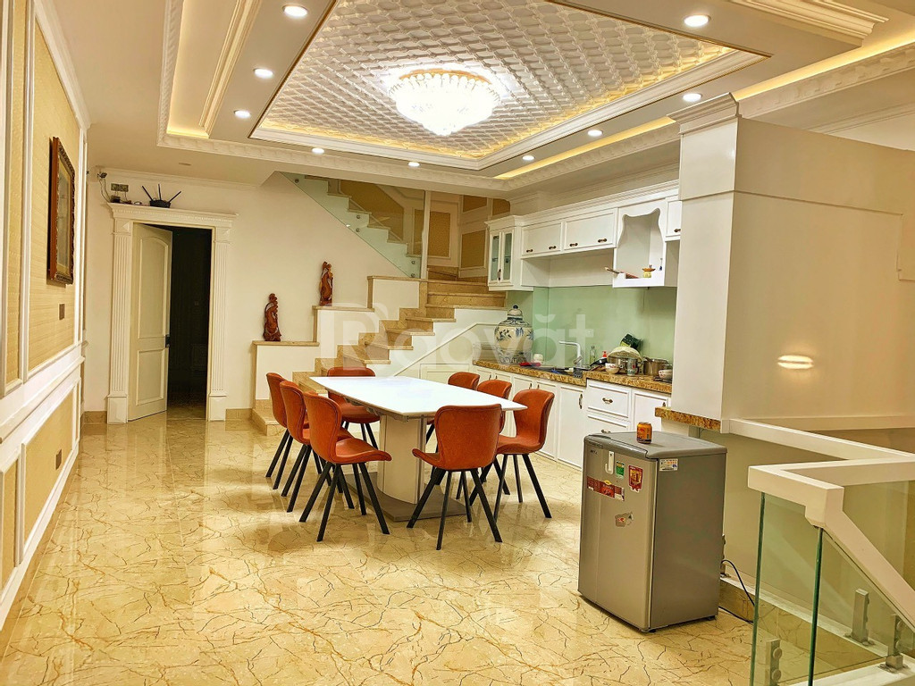 Nhà KDC 6B Intresco Phạm Hùng, 100m2 1 hầm và 4 tầng, rất sang trọng
