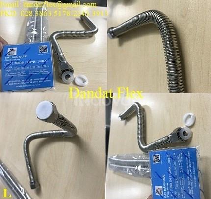 Báo giá ống mềm dẫn nước nóng lạnh inox