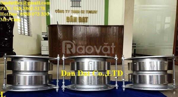 Khớp nối giãn nở nhiệt inox DN300x300, Khớp co giãn nhiệt inox