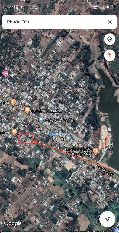 Đất MT vị trí đẹp, cách Tỉnh lộ 328 50m xã Phước Tân, SHCC, giá tốt