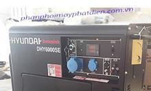 Máy phát điện 5kw Hyundai nhập khẩu