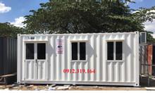 Bán và cho thuê container các loại văn phòng, kho