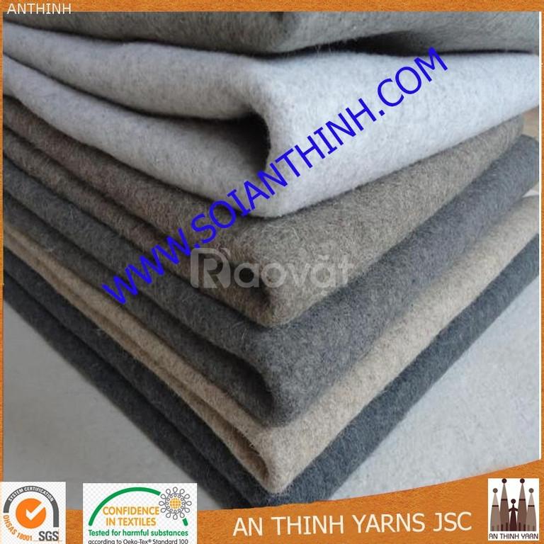 Sản xuất vải xăm kim, vải nỉ số lượng lớn
