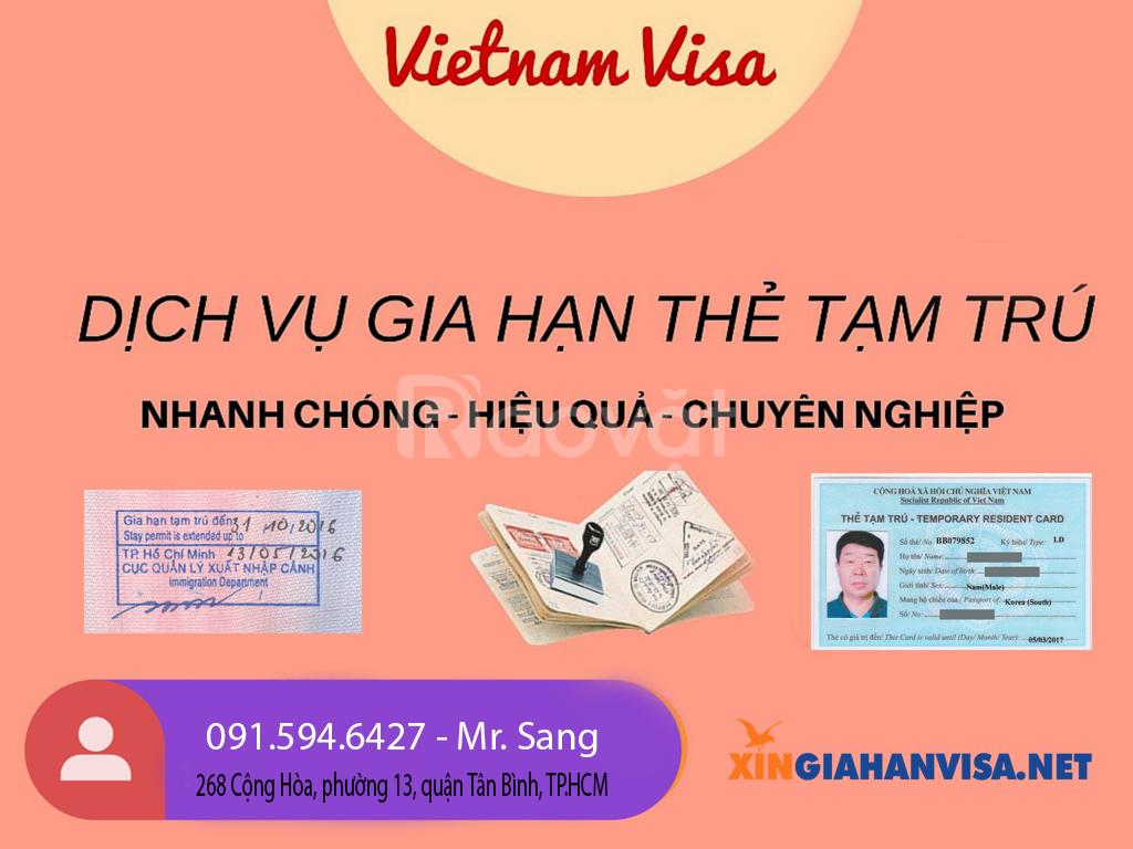 Com bo làm thẻ tạm trú và giấy phép lao động (ảnh 1)