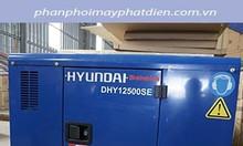 Máy phát điện 10kw Hyundai nhập khẩu