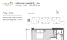 Cần bán gấp căn hộ 1 ngủ, 51m2 Vinhomes Gardenia Mỹ Đình, giá: 2.0 tỷ