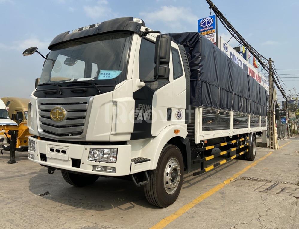 Giá xe tải faw 8 tấn thùng dài 9m7| xe tải 8 tấn thùng dài bình dương