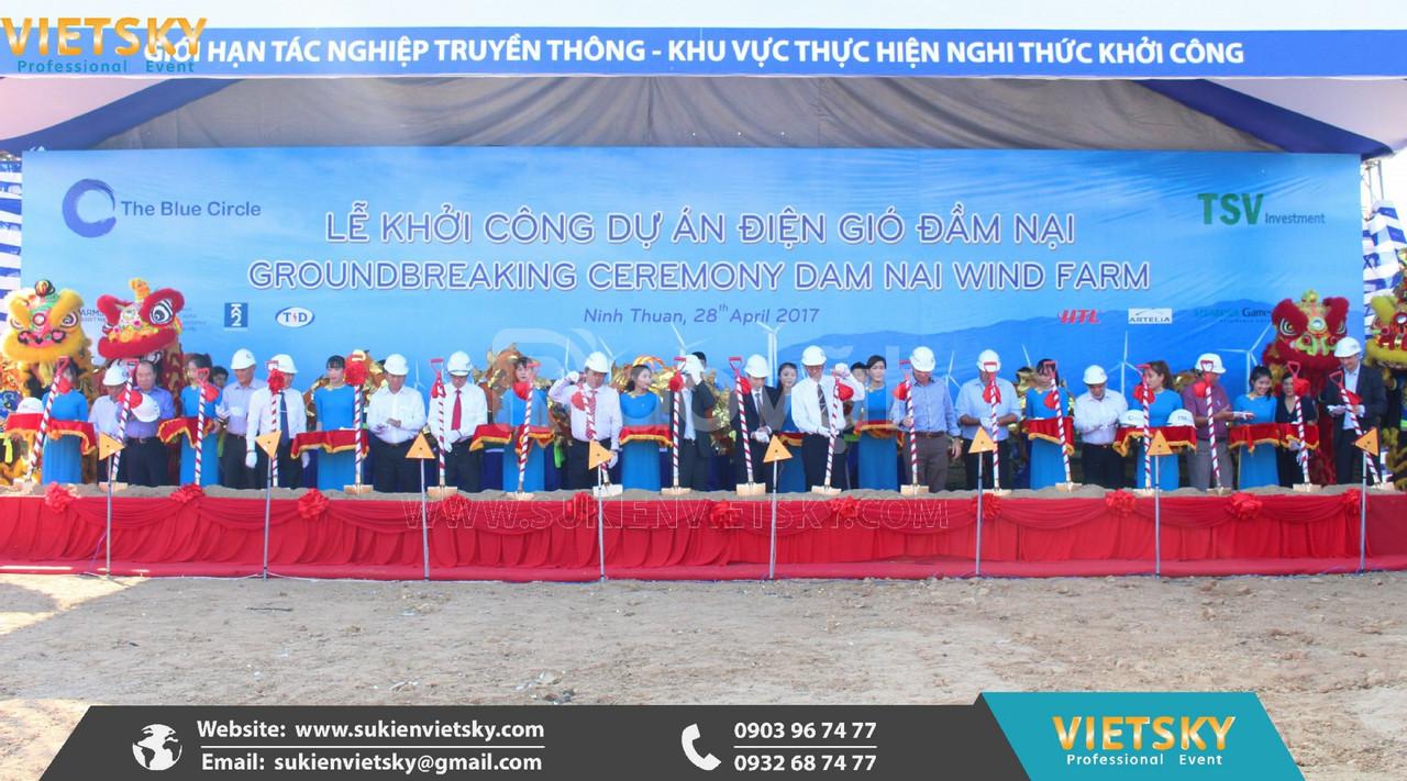 Công ty tổ chức lễ khởi công, động thổ giá rẻ tại Đà Nẵng