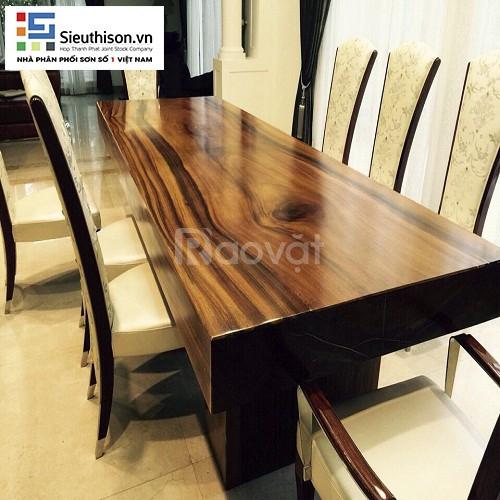 Tìm đại lý cung cấp sơn PU & NC chất lượng cao cho đồ gỗ nội ngoại