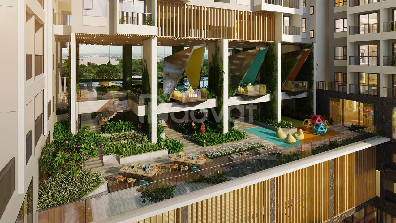 Căn hộ ngay Aeon Mall, view sân golf, thiết kế thông thoáng