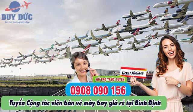 Tuyển cộng tác viên bán vé tại Bình Định
