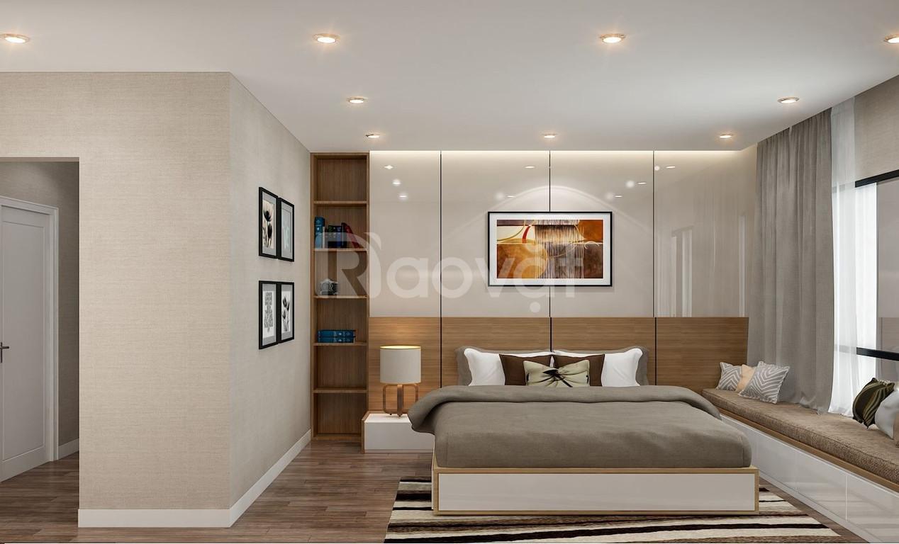Giường ngủ gỗ công nghiệp đẹp hiện đại