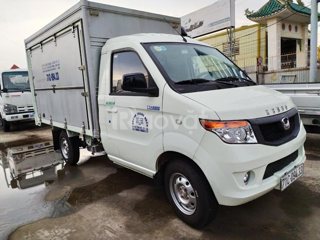 Xe tải Kenbo 900kg thùng bán hàng lưu động