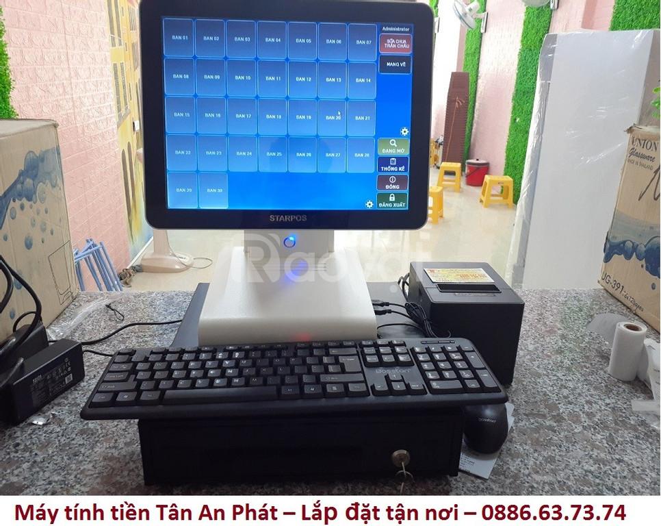 Lắp đặt tận nơi combo máy tính tiền tại Hà Tĩnh cho quán sữa chua