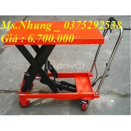 Xe nâng mặt bàn liên hệ 0375292538