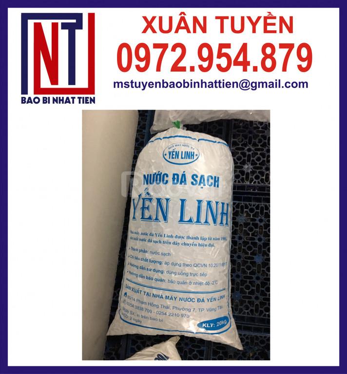 Túi nilon đựng đá tinh khiết 5kg, 10kg, 20kg