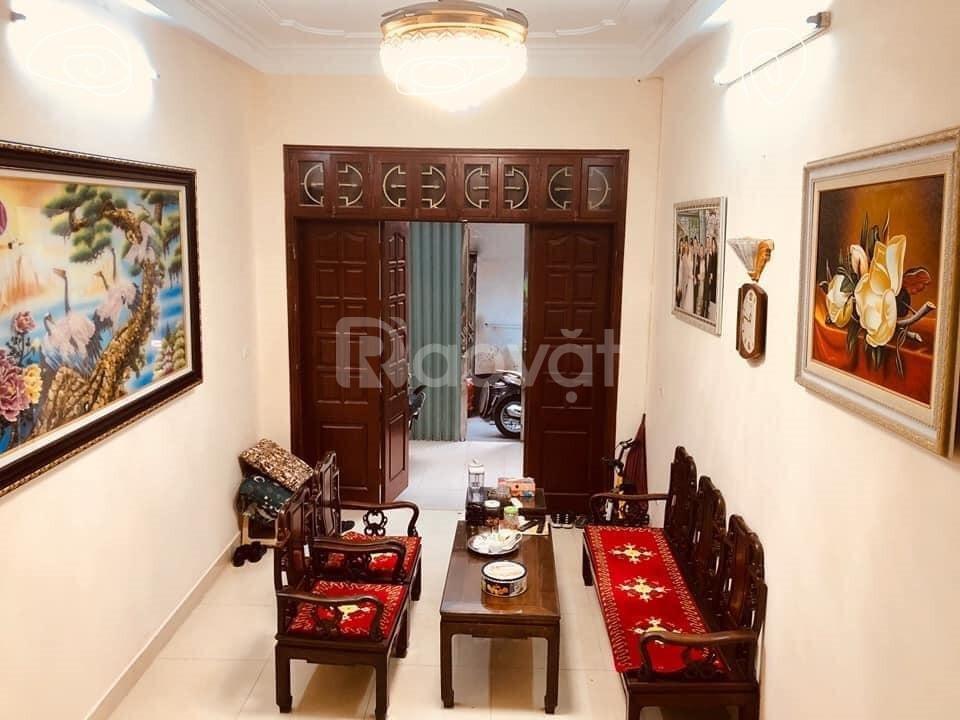 Bán nhà mới ngõ chợ Khâm Thiên 60m2, nhà mặt ngõ nông 4,65tỷ