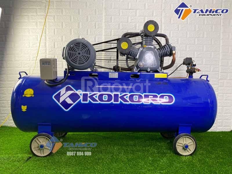 Bán máy nén khí 7.5HP giá tốt cho tiệm rửa xe ô tô khu vực Tây Ninh