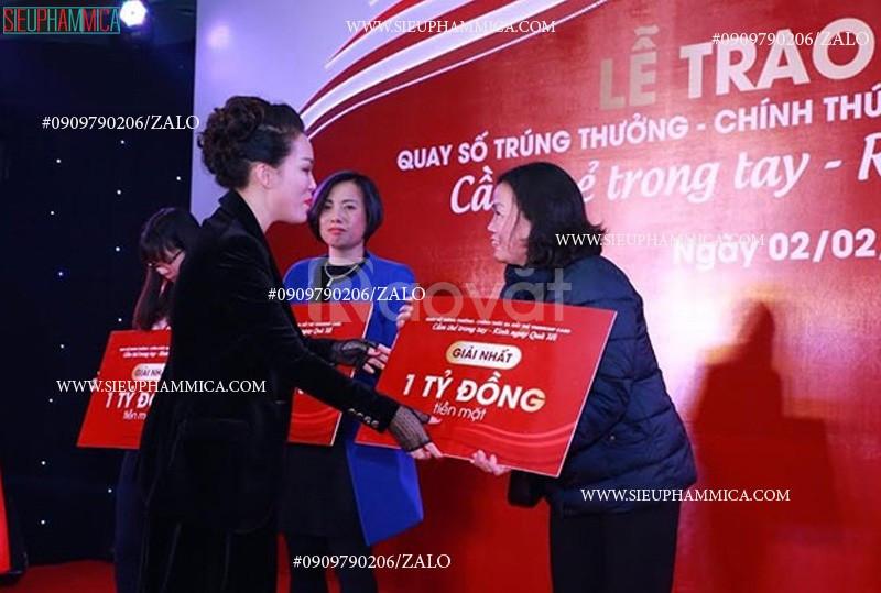 Nhận in bảng trao giải thưởng TPHCM