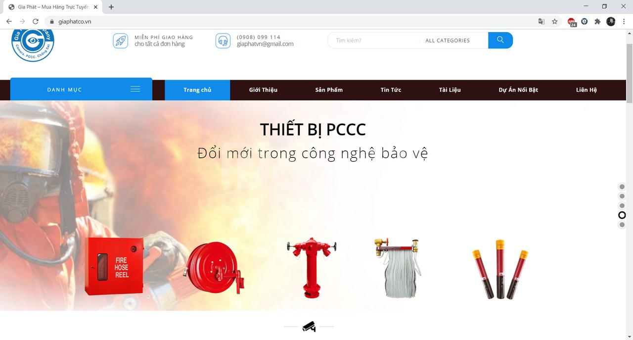 Cung cấp thi công pccc giá rẻ thị trường