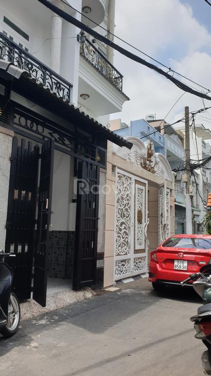 Chính chủ bán gấp nhà HXH 2 mặt tiền 4 tầng mới đẹp Nguyễn Văn Khối