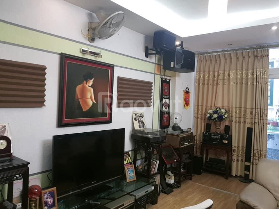 Nhà liền kề  Trường Chinh Nguyễn Trãi, gara ôtô