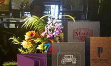 Cơ sở sản xuất bìa menu quán ăn, địa chỉ cung cấp bìa da khách sạn