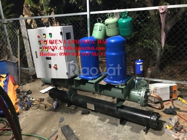 Rao vặt lắp đặt hệ thống chiller công nghiệp