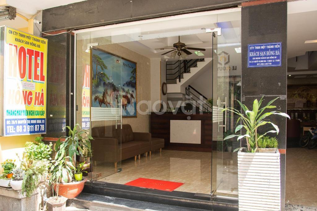 Bán khách sạn Nguyễn Thị Minh Khai, Phường Đa Kao, 600m2 19PN