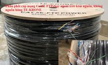 Cáp mạng liền nguồn TE-KRONE Cat5E FTP chạy ngoài trời