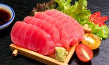 Cá ngừ đại dương 35kg xẻ nguyên con