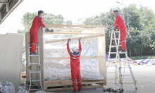Dịch vụ đóng kiện gỗ cho hàng hoá xuất khẩu đi Anh