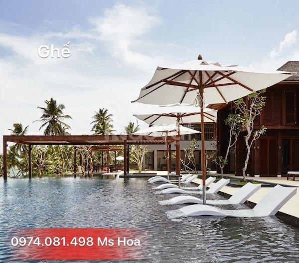 Ghế bể bơi khu Resort Fiberglass