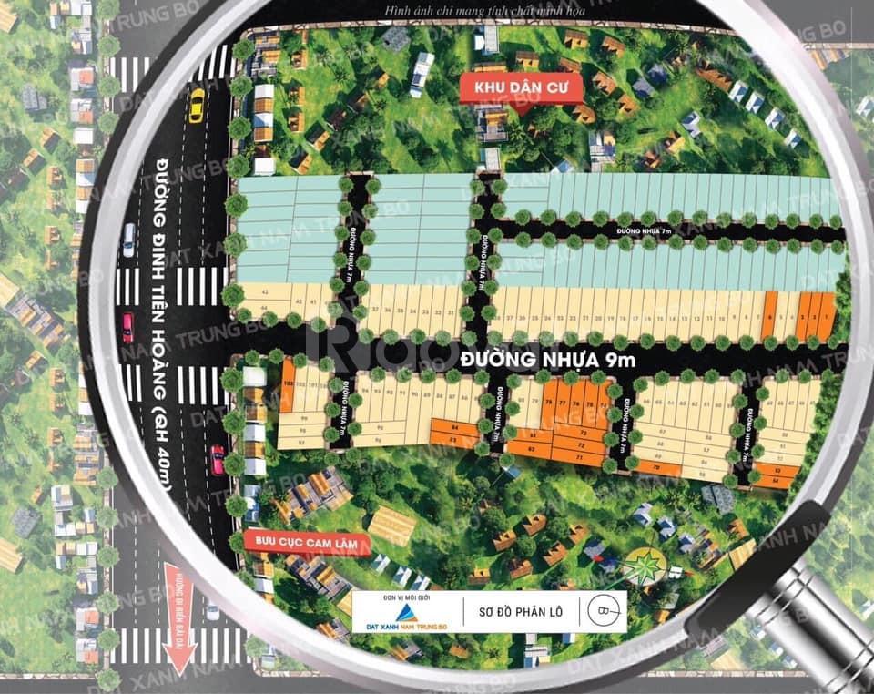 Cơ hội và tìm năng phát triển quỹ đất Huyện Cam Lâm