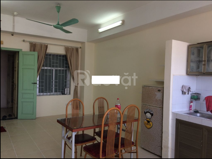 Cho thuê chung cư tòa N02, đường Trần Qúy Kiên, 65m 2PN thoáng mát