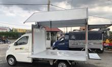 Xe tải Tera 100 thùng cánh dơi bán hàng lưu động