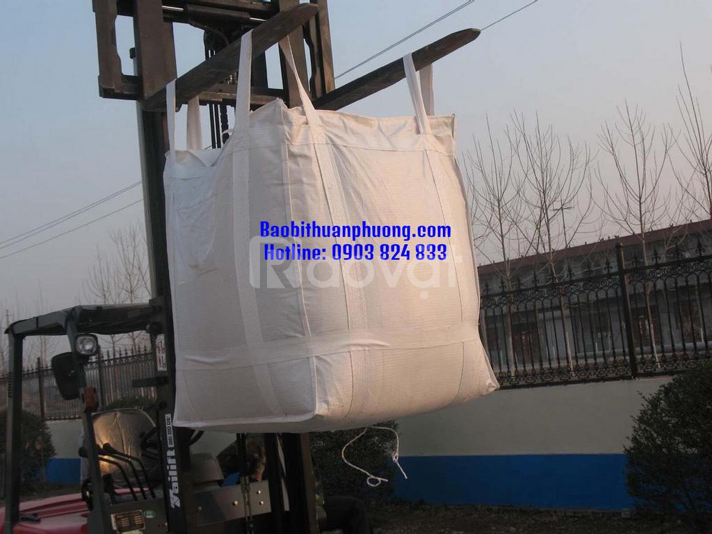 Bao jumbo 1 tấn hạt nhựa giá cạnh tranh