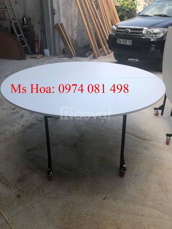 Bàn hội nghị, bàn tròn mặt kính xoay