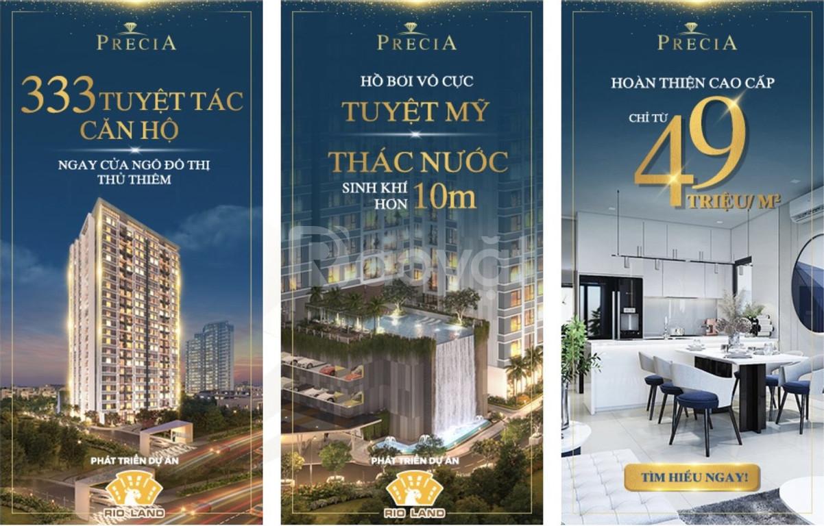 Chỉ 1,1 tỷ sở hữu căn hộ 2 PN ở trung tâm Q2
