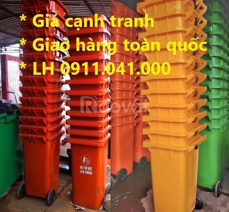 Thùng rác nhựa Công nghiệp Sài Gòn