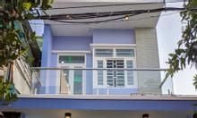 Bán nhà mới xây mặt tiền q12 giá bèo