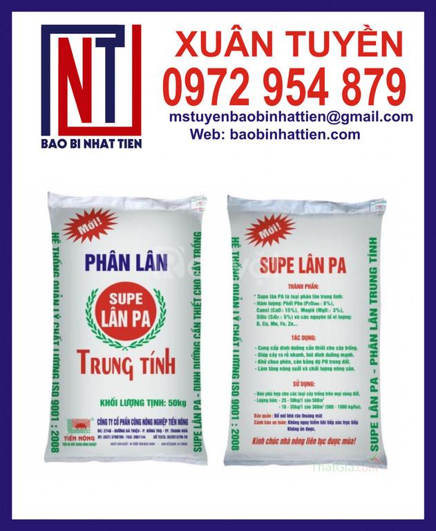 Đơn vị sản xuất in bao bì đựng phân bón