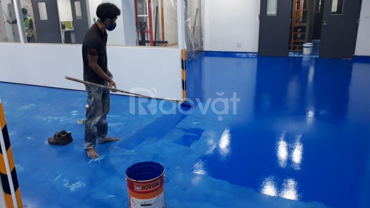 Tìm đối tác nhận thi công sơn epoxy Nanpao 926 cho công trình