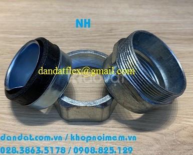 Đầu nối ống ruột gà lõi thép, phụ kiện ống luồn dây điện, đầu nối DPJB