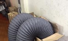 Ống gió mềm vải D100, D125, D150, D200, D250 thông gió, hút khí.
