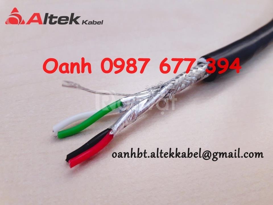 Cáp tín hiệu Rs485 2p18awg, 2p22awg, 2p24awg hãng Altek Kabel