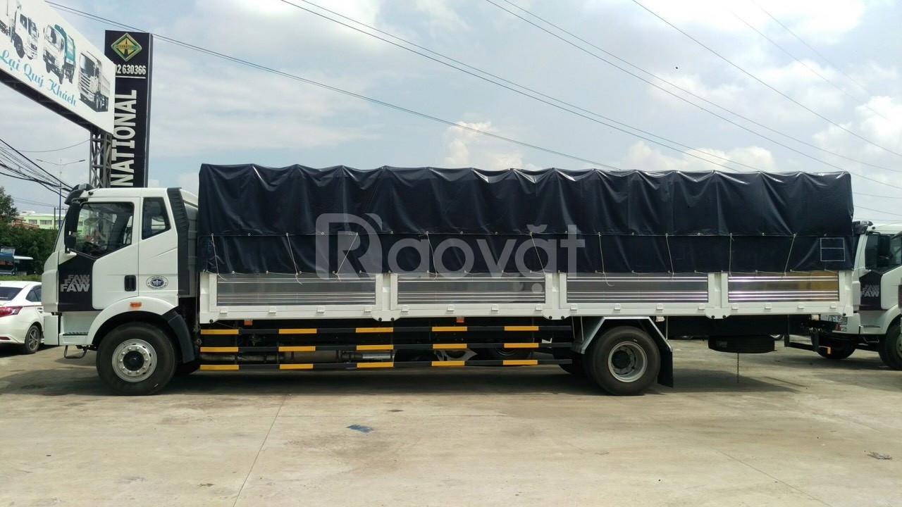 Xe tải thùng dài, xe tải faw 8 tấn thùng dài tại Bình Dương