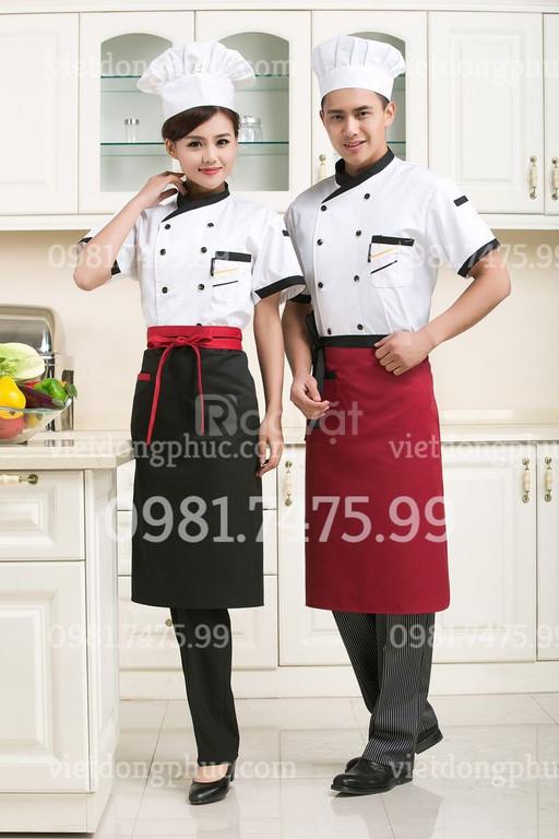 Xưởng may đồng phục đầu bếp giá rẻ, nhiều mẫu mã đa dạng