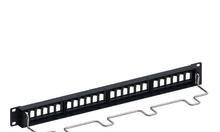 Thanh đấu nối, patch panel 24 cổng cat5e UTP 1U -24 760237040